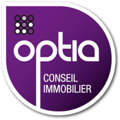 Logo optia conseil immo home 2