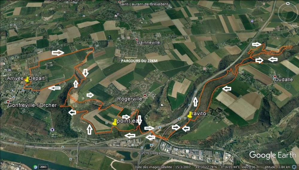 Site 22km